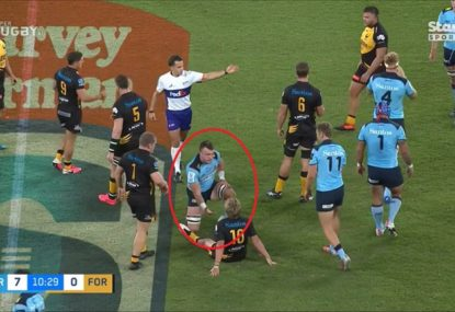 Jack Dempsey pulls classic old-school prank on Force player