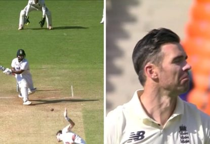 Anderson gobsmacked as Pant hits one of the most bonkers shots in Test cricket history