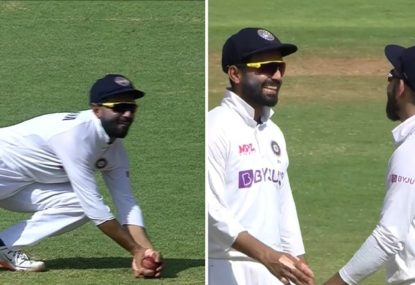 Kohli baffled at Rahane's inexplicable uncertainty over clear catch