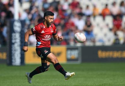 Queensland Reds vs Crusaders: Super Rugby Trans-Tasman live scores