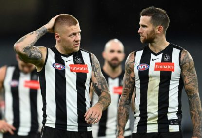 De Goey, Howe injured as Eagles beat Pies