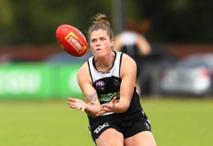 AFLW award vindicates sport switch for Brianna Davey