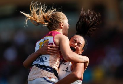 Third time lucky for Brisbane Lions as they finally capture the AFLW flag