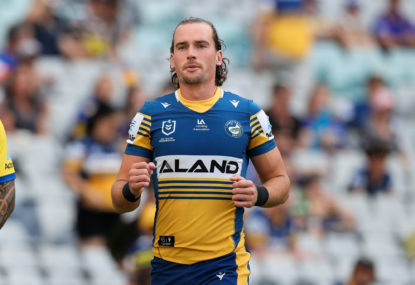 Gutherson's C-bomb spray at teammate in Roosters thumping sums up Eels right now