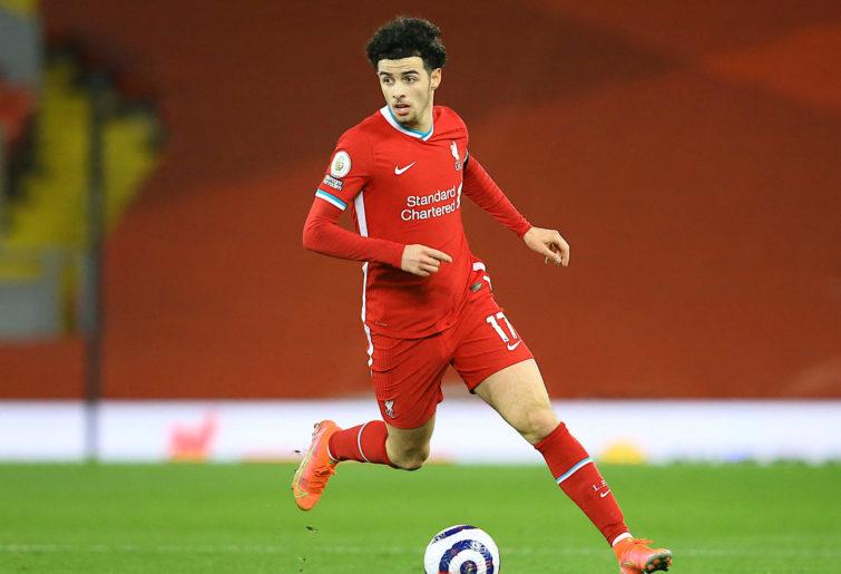 Curtis Jones of Liverpool