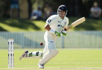 Daniel Hughes' Test hopes on line in Sheffield Shield final