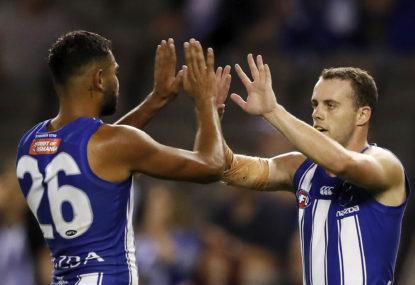 North Melbourne Kangaroos vs Essendon Bombers: AFL live scores