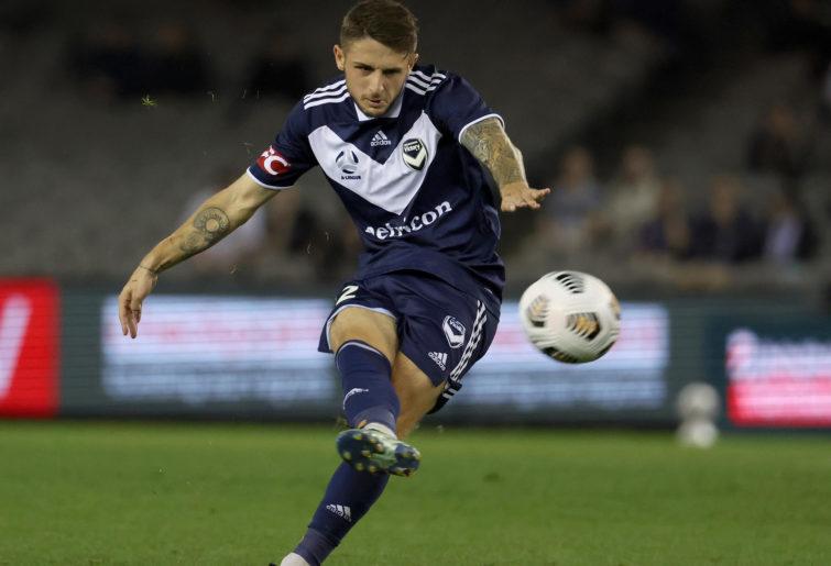 Jake Brimmer of Melbourne Victory