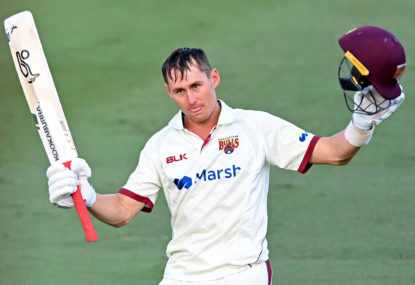 Labuschagne puts Queensland on top in Shield final