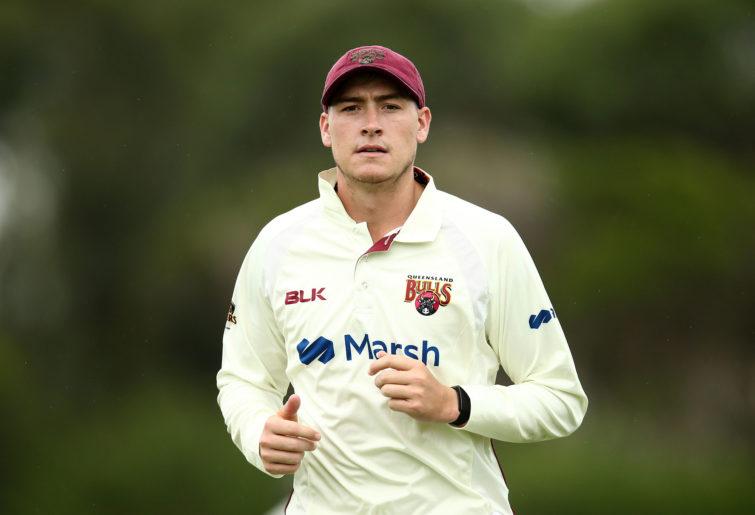 Matthew Renshaw of Queensland looks on