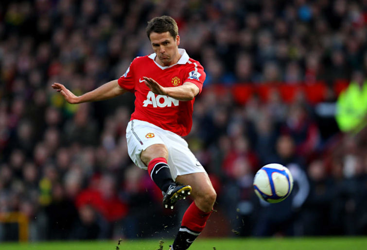 Michael Owen of Manchester United