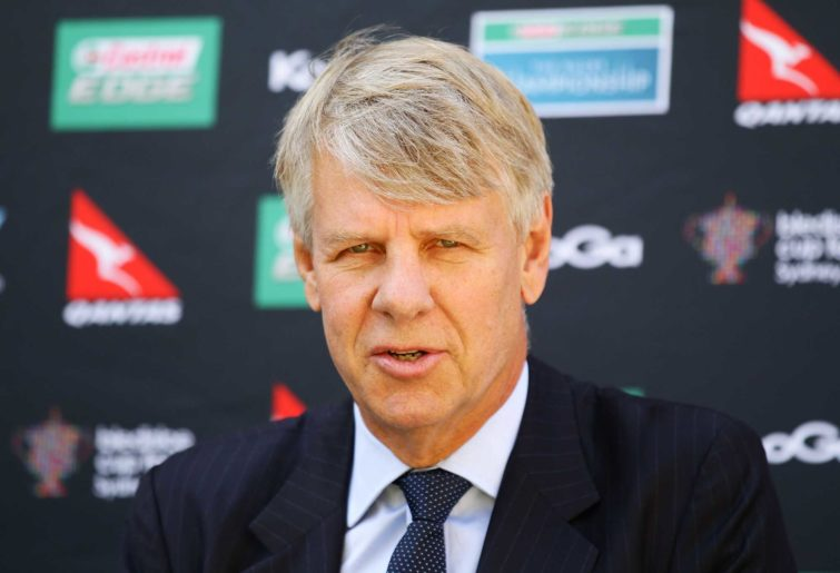 NSW Waratahs Chairman Roger Davis