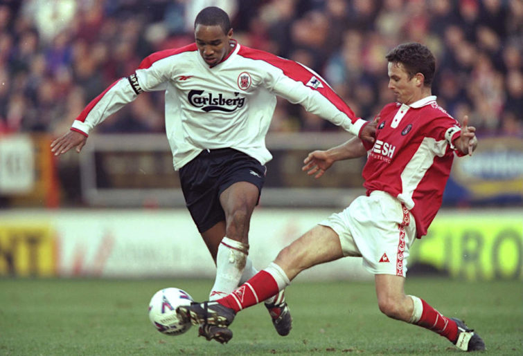 Paul Ince of Liverpool