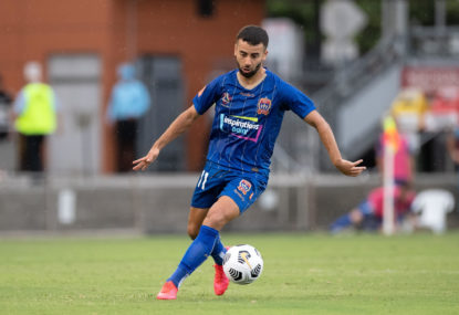 Newcastle Jets vs Perth Glory: A-League live scores