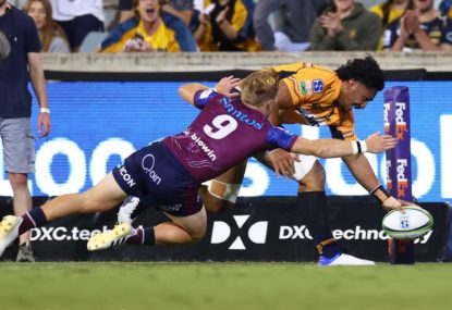 Reds-Brumbies has become 'the' modern-day Australian rugby rivalry