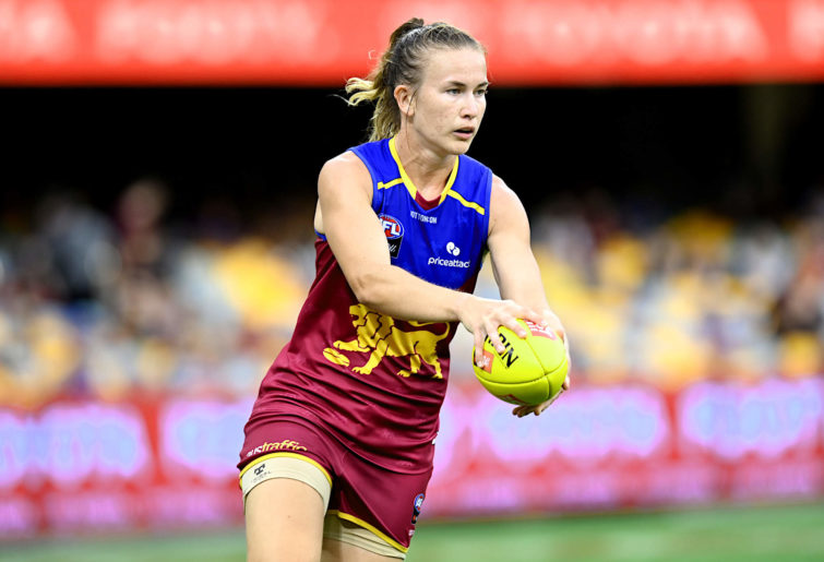Shannon Campbell of the Brisbane Lions