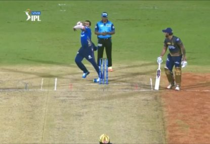 Peak part-timer areas as Rohit Sharma manages to roll his ankle bowling spin
