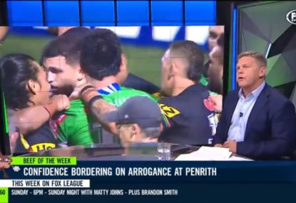 NRL journalist's savage bake for 'arrogant', 'disrespectful' Panthers
