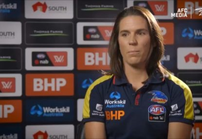 The heartbreaking reason why concussed Crows AFLW skipper is so accepting of the new 12-day rule