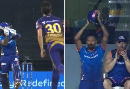 Everyone stunned as Indian smashes Pat Cummins into orbit