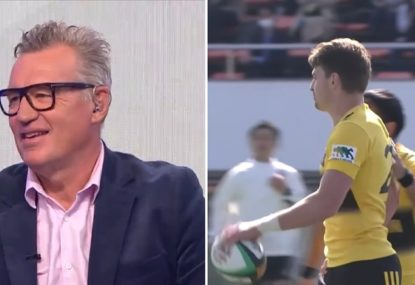 Sir John Kirwan's massive call on Beauden Barrett's All Blacks future