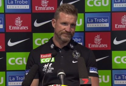Nathan Buckley uncertain of how to replace injury-cursed defender