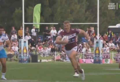 Tom Trbojevic provides Manly with the turbo injection their season has needed