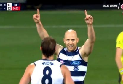 Why Jordan Lewis believes a Gary Ablett return to Geelong 'would be wrong'