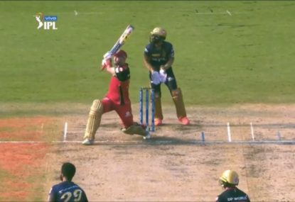 Glenn Maxwell outdoes himself with another ludicrous switch hit