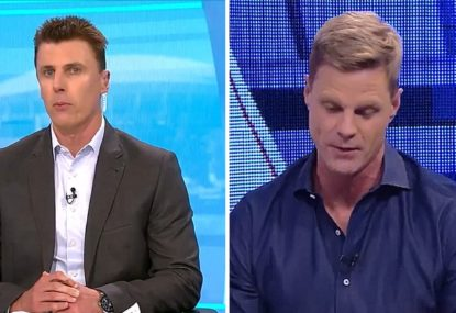 Matthew Lloyd hits back at Nick Riewoldt after being accused of 'lazy and ill-informed' concussion take