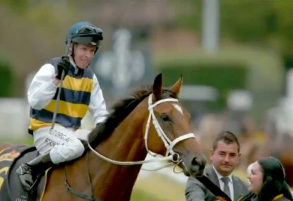 Fairytale story as a little-known jockey causes a boilover in the Sydney Cup