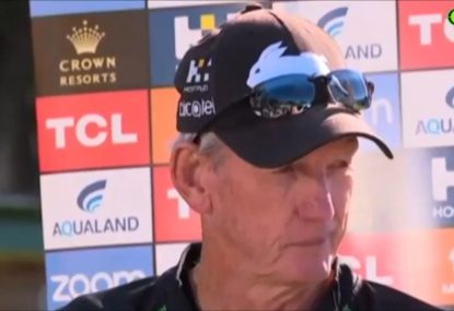 Wayne Bennett repeatedly stonewalls Latrell questions as presser gets frosty