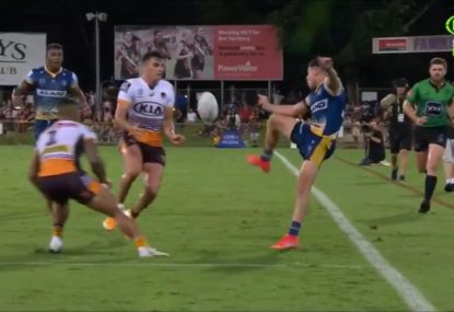'The Karate Kid!' Mitchell Moses drops jaws with miraculous try assist