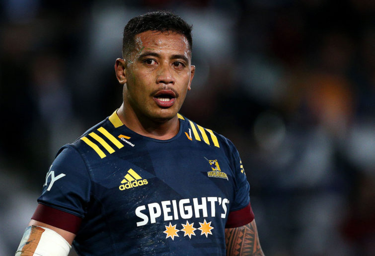 Shannon Frizell of the Highlanders