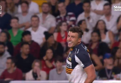 Tom Banks gives the Brumbies a dream start to the Super Rugby AU final