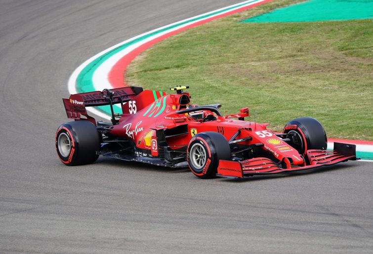 Carlos Sainz Jr of Ferrari
