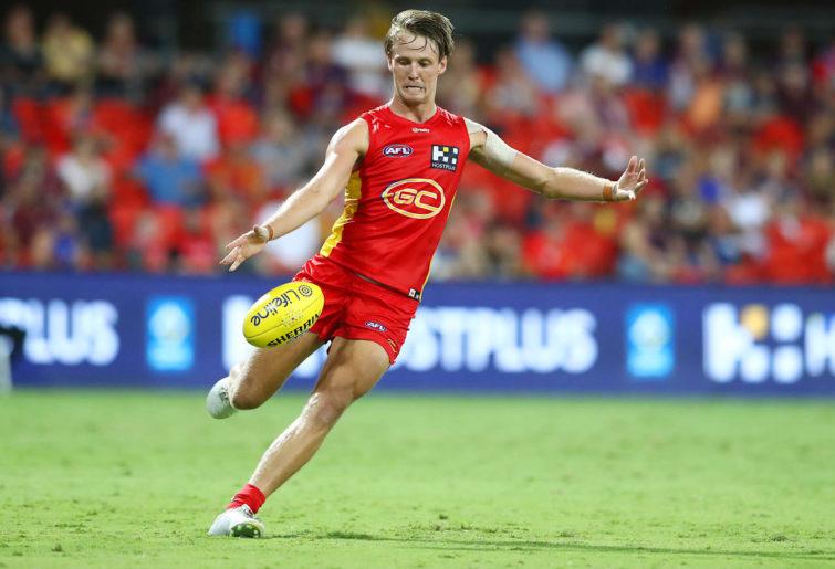 Jack Lukosius kicks