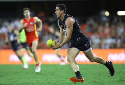 Why Jacob Weitering is clearly the AFL's best key defender