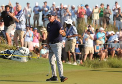 Phil Mickelson becomes the oldest ever major golf winner with PGA victory