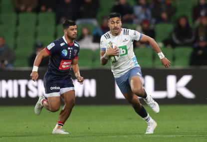 Blues massacre Rebels to continue New Zealand clean sweep