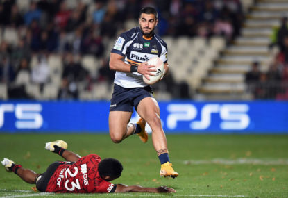 Brumbies fall heartbreakingly short in titanic struggle with Crusaders