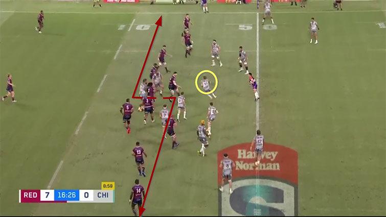 reds defensive line vs damian mckenzie