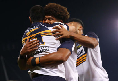 Brumbies fight past gallant Force to set up Reds showdown