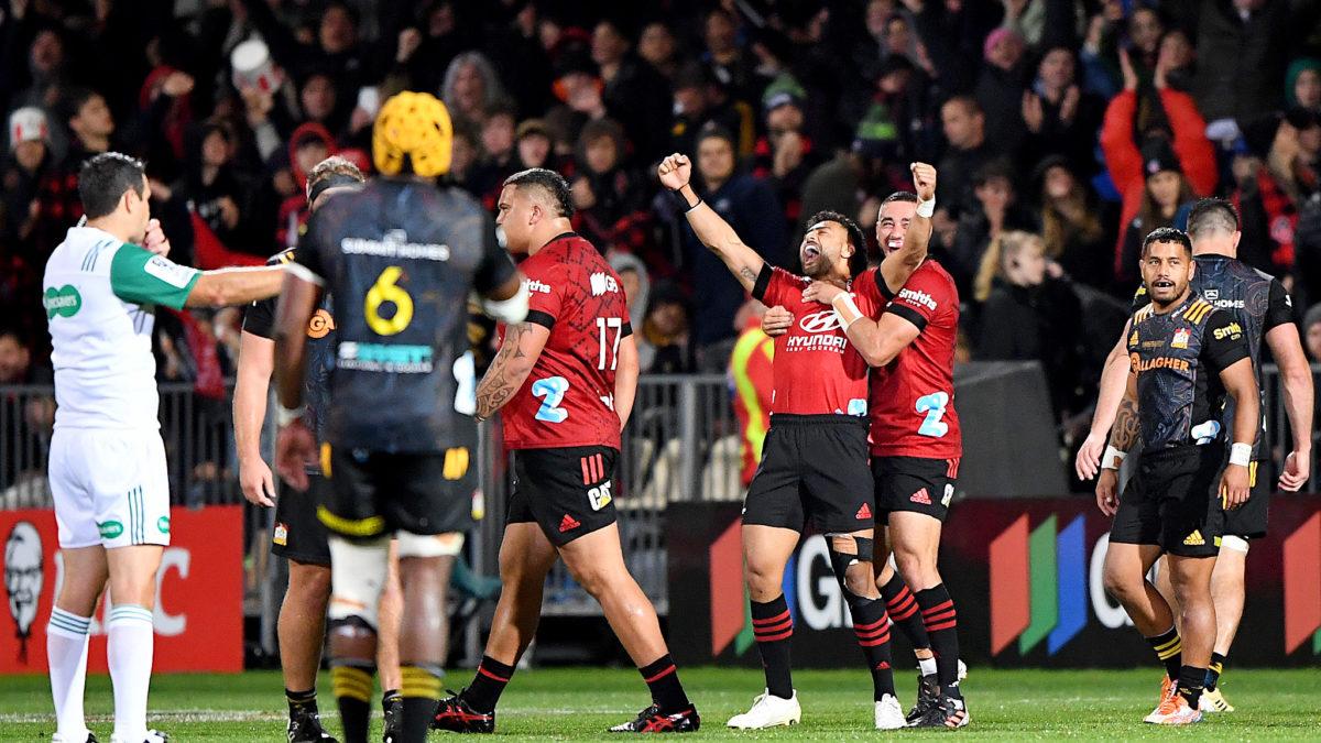 Champions again! Crusaders too good in Super Rugby Aotearoa final