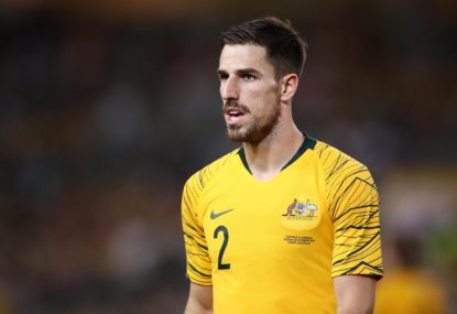 Socceroos complete perfect second round with win over Jordan
