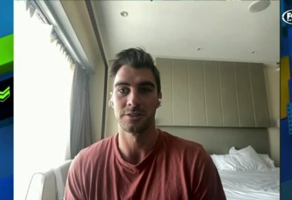 Pat Cummins speaks about what it's like in India after the IPL suspension