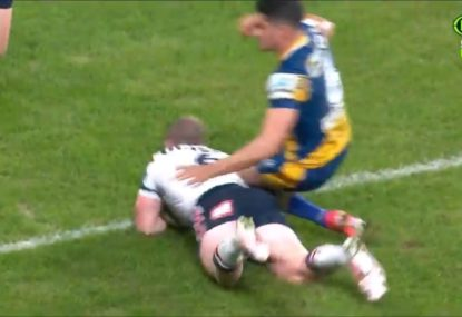 Should Dylan Brown have been reported after breaking this Rooster's ribs?