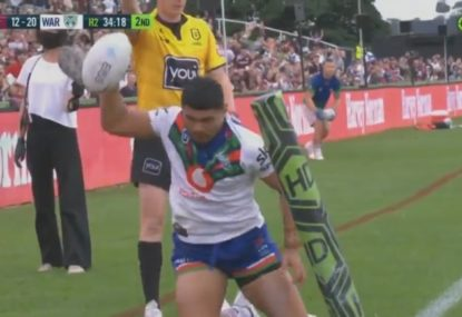 Major Warriors blunder blows what looked to be a certain try