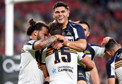 ACT Brumbies vs Hurricanes: Super Rugby Trans-Tasman live scores