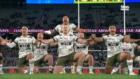 Highlanders' spine-tingling haka kicks off Trans-Tasman final with a bang